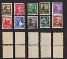 ITALY 1938 Empire Mint *  Sc.400-409 (Sa.439/448)