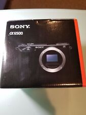 Sony Alpha a6500 Mirrorless Digital Camera Body Only BNIB