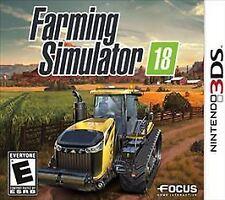 Farming Simulator 18 (Nintendo 3DS, 2017)