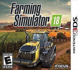 Brand New Farming Simulator 18 Nintendo Brand New Sealed 3DS
