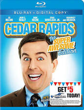 Cedar Rapids (Blu-ray Disc) Ed Helms From The Office/Hangover! FREE USA SHIPPING