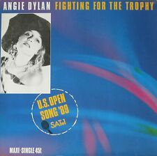 """Angie Dylan-Fighting for the Trophy (12"""" VINYL MAXI-SINGLE GERMANY 1989)"""