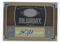 2012 SP Signature Edition Cutter Dykstra AUTO AUTOGRAPH RC BREWERS