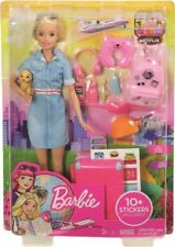NEW Barbie Travel Doll from Mr Toys