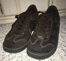 SKECHERS Suede Leather Sneaker Shoe 46930~Brown~Size 8.5 US, 5.5 UK