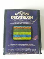Atari 2600 Activision Decathlon EAZ 030 1983 Cartridge Only