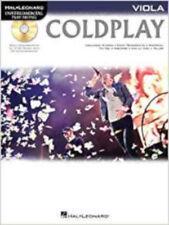 Instrumental Play-Along: Coldplay (Viola) (Hal Leonard Instrumental Play-along),