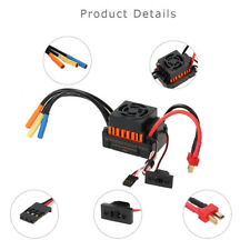 Waterproof 60A RC Brushless ESC Kit Part Electric Speed Control For 1/10 RC Car