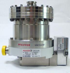 PFEIFFER TURBOMOLECULAR PUMP TMU 521 PM P02 845 A, TC 600 PM C01 690 C, TESTED