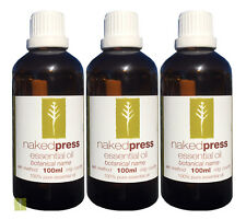 Peppermint Premium Essential Oil 100 Pure 100ml X 3 Pack - Aromatherapy Grade