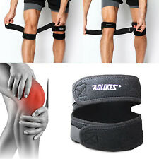 2 Pack Patella Knee Straps Adjustable Dual Band Brace Support Running Arthritis
