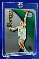DIRK NOWITZKI E-X TWINKLE SPARKLE SURFACE RARE SP DALLAS MAVERICKS LEGEND HOF
