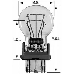 Turn Signal Light Bulb Wagner Lighting BP3457NALL