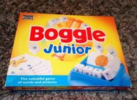 VINTAGE PARKER BOGGLE JUNIOR 1994 COMPLETE LOVELY CONDITION WORDS & PICTURES