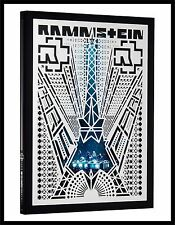 "Rammstein ""paris"" Standard Edition DVD Live in Concert NEU 2017"