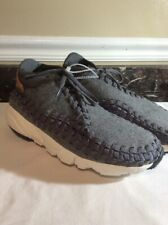 new style 7d687 e8a69 Nike Mens Air FootScape Woven Chukka SE Gray Size 12 857874-002