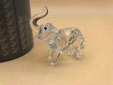 SWAROVSKI Figura Bebé Elefante 6,5 Cm. con Confezione E Zertifikat. Alto Stato