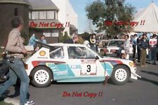Juha Kankkunen Peugeot 205 Turbo 16 E2 Rally of New Zealand 1986 Photograph 7