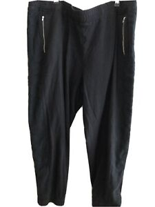 TAKING SHAPE Plus Size Black Sport Luxe Pant With Mesh Inlay Size XL RRP $90