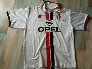 MAILLOT FOOT LOTTO MILAN AC OPEL VINTAGE TAILLE XL/D7 TBE
