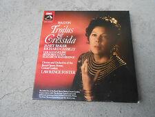 WALTON-TROILUS & CRESSIDA-BAKER-FOSTER-3 LP BOX-BOOK-AUDIOPHILE-UK-SLS 997-NM