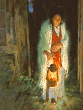 """Lamp Unto My Feet"" Michael Dudash Fine Art Canvas Giclee"
