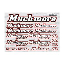 Much-More Muchmore Racing Color Decal Red - MR-D21