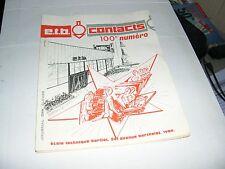 Journal des élèves (Ecole) BERLIET Numéro 100 / e.t.b. contacts (Rare)