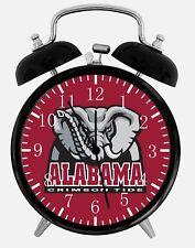 "Alabama Crimson Tide Alarm Desk Clock 3.75"" Home or Office Decor W182 Nice Gift"