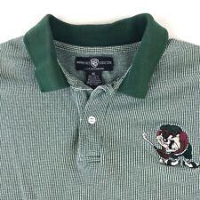 Vintage Warner 1995 Tasmanian Devil Golf Embroidered Polo Shirt Men's Size XL