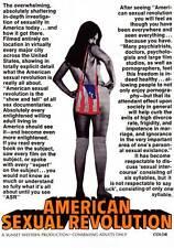AMERICAN SEXUAL REVOLUTION Movie POSTER 27x40 Jan Davis Pete Dawson Morris Kite