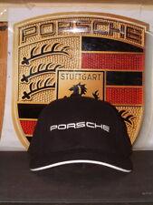 PORSCHE NORTH AMERICA PORSCHE RACING/LE MANS EVENT BLACK BASEBALL STYLE HAT NEW!