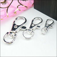 9x23mm,14x32mm,16.5x39mm Lobster Swivel Clasps For Key Rings 4Colors-1 R0151