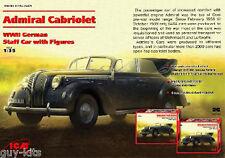 Icm Icm35471 Admiral Cabriolet 1/35