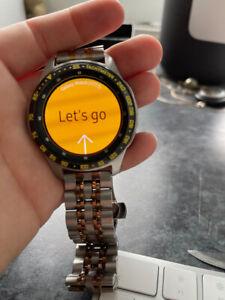 Samsung Galaxy SM-R805F 46mm Black Smart Watch - original box - Reset to factory