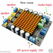 Tk2050 50w +50 w Doble Canal Clase T HiFi estéreo amplificador de Audio Board Dc12v 24v