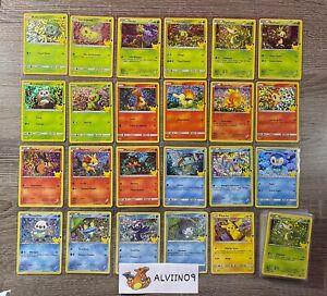 AU CHOIX - Cartes Pokémon - 25 Ans McDo / McDonald's / Macdo - 2021