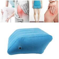 Soft Inflatable Leg Pillow Cushion Lightweight Portable Knee Pillow Office