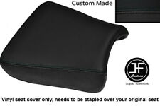 BLACK VINYL CUSTOM FITS SUZUKI GS 1200 SS 01-02 FRONT RIDER SEAT COVER ONLY