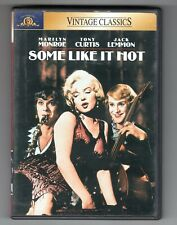 """""""Some Like It Hot"""" Dvd. Marilyn Monroe. Combined Shipping On Multiple Items."""