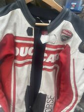 Ducati Corse One Piece Race Leathers Made By Dainese Size 48