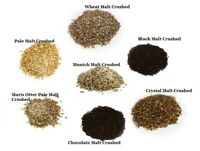 Young's Grain CRUSHED Malt 500g 3kg 25kg - Pale Crystal Munich Wheat P&P UK