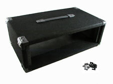 """Procraft 3U 12"""" Deep Equipment Rack 3 Space - Made in the USA - With Rack Screws"""