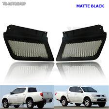Black Front Net Grill For Mitsubishi Triton L200 Ralliart Sport MN ML 2006 07 09