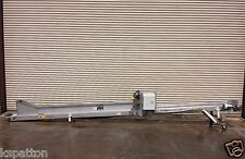 10� x 20' Long Ss Incline Food Product Transfer Conveyor, Conveying