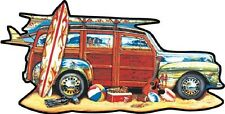 Jigsaw puzzle Car Surfing Woody 1000 piece freeform NEW Made in USA