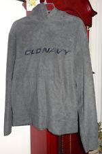 S Ladies Womens Old Navy ON Fleece Jacket Hoodie Hood Black Pockets Pull Over
