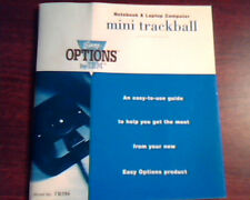 Easy Options by IBM TR586 Mini trackball Notebook and Laptop computer Manual