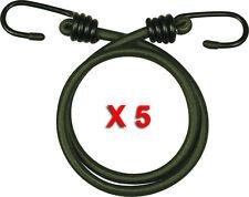 Pack de 5 45.7cm Élastique 45CM Elastiques Cordons Corde Résistant Olive Corde