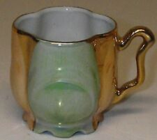 antique Eleanor Germany Demitasse Mini CUP Luster Footed Scalloped